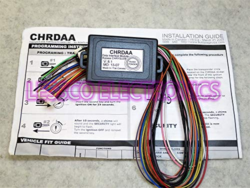 (New in Package!! AutoPage CHRDAA Chrysler Data Interface Bypass Kit )