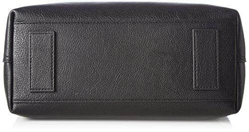 Tommy Hilfiger Effortless Novelty, Borse a secchiello Donna, Nero (Black/ Pewter), 12.5x20.5x25.5 cm (B x H x T)