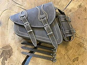Odin Black /& Orange Swing Bag by Orleantanos Biker Bag Star Frame Fatboy Swing Left Left Side HD Special Edition Bag Special Edition Swing Bag Side Pocket Limited
