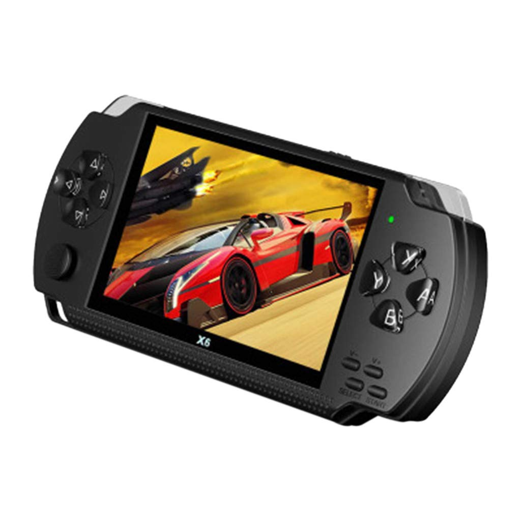 DDLmax 4.3inch Portable Video Handheld Game Console Player 10000 Games 32Bit 8GB X6 by DDLmax (Image #2)