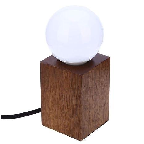 Lámpara de mesa Vintage Loft E27 AC 100-240V Lámparas de ...