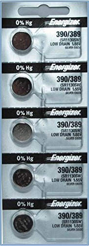 Energizer 390/389 Silver Oxide Cd/5 ()