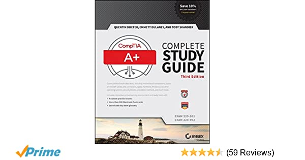 Comptia a complete study guide exams 220 901 and 220 902 quentin comptia a complete study guide exams 220 901 and 220 902 quentin docter emmett dulaney toby skandier 9781119137856 amazon books fandeluxe Choice Image