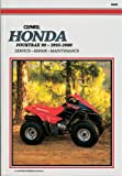 Honda Fourtrax 90, 1993-2000, Clymer Publications Staff and Penton Staff, 0892877499