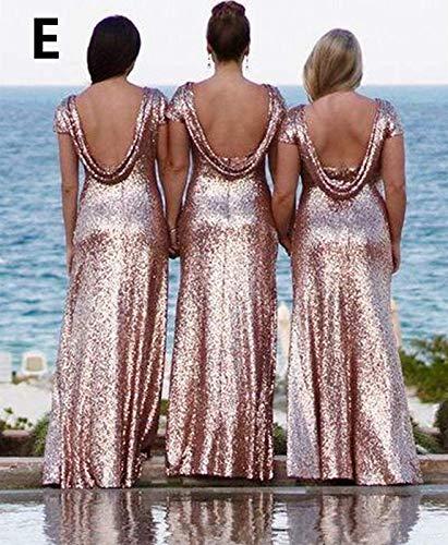 Vestido Para Rose Mujer Solovedress Gold d pHxAqF