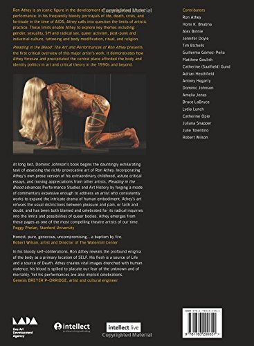 Pleading in the Blood: The Art and Performances of Ron Athey ...