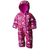 Columbia Baby Girls' Frosty Freeze Bunting, Bright Plum Critters, 0-3 Months