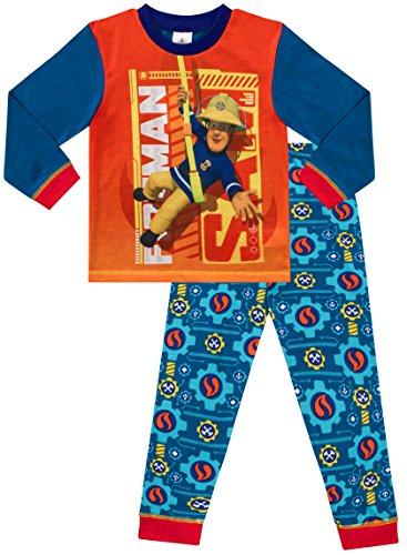 Fireman Sam Fire Rescue Little Boys Pajamas