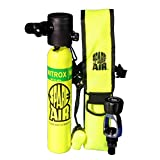 New 3.0CF Nitrox Spare Air Package with Fill Adapter, Holster & Leash
