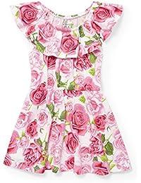 Baby Girls 3563 Off Shoulder Casual Dress