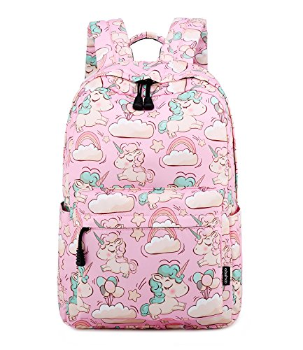Abshoo Cute Lightweight Unicorn Backpack For Elementary Girls Kids Bookbag - Backpack Kids Pink