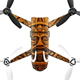MightySkins Protective Vinyl Skin Decal for Parrot Bebop 2 Quadcopter Drone wrap cover sticker skins Carved Aztec