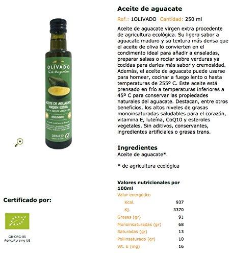 La Finestra Sul Cielo Aceite de Aguacate - 250 ml: Amazon.es: Alimentación y bebidas
