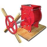 Weston Apple and Fruit Crusher (05-0201), Cast Iron Construction, Stainless Steel Chute & Crushing Blades (Renewed)