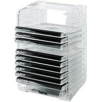 Hama CD Rack & Stack 12, transparent atril