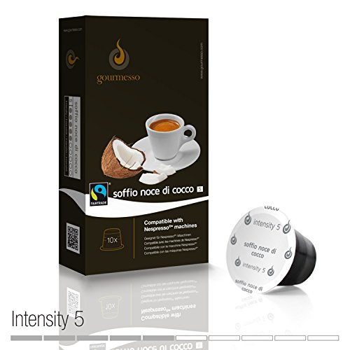 Gourmesso Flavor Bundle - 50 Nespresso® Compatible Coffee Capsules