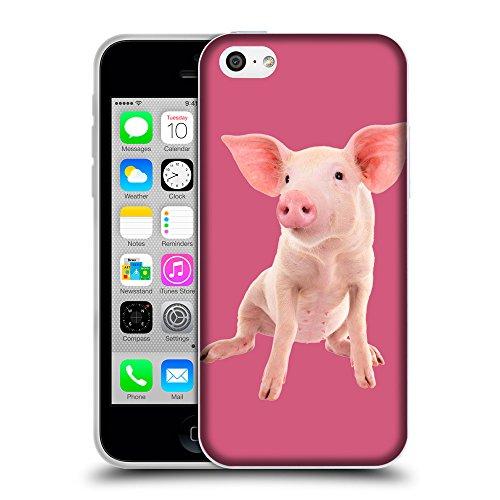 GoGoMobile Coque de Protection TPU Silicone Case pour // Q05580614 Porc bébé Arrossire // Apple iPhone 5C
