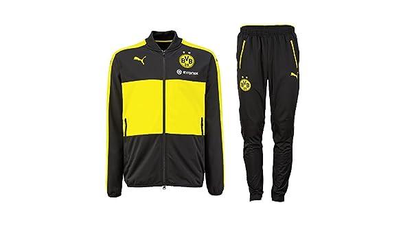 PUMA Borussia Dortmund Chándal 2016/2017, Hombre: Amazon.es ...