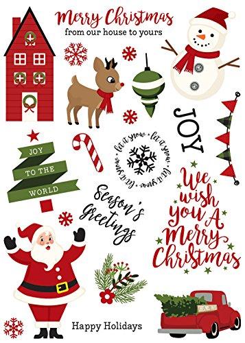 Echo Park Paper Company A A Perfect Christmas Rub Ons