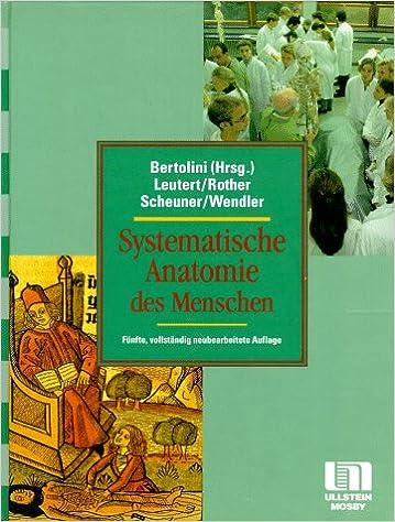 Systematische Anatomie des Menschen: Amazon.de: Rolf Bertolini ...
