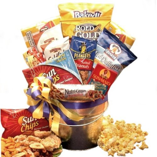 Healthy Snack Food Gift Basket - Care Package Gift Idea for College ...