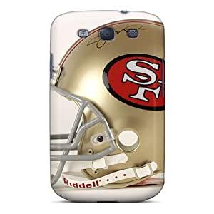 RareCases Galaxy S3 Hybrid Tpu Case Cover Silicon Bumper San Francisco 49ers Helmet
