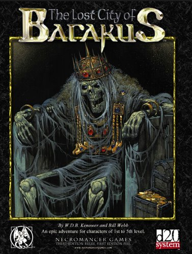 The Lost City of Barakus (Dungeons & Dragons d20 3.5 Fantasy Roleplaying)