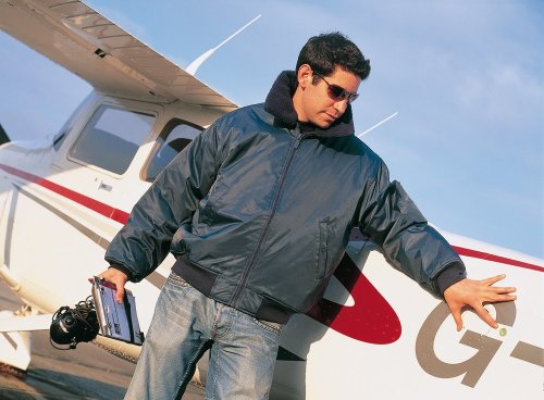 Result WORK-GUARD Classic Flying Jacket, Navy, XXL