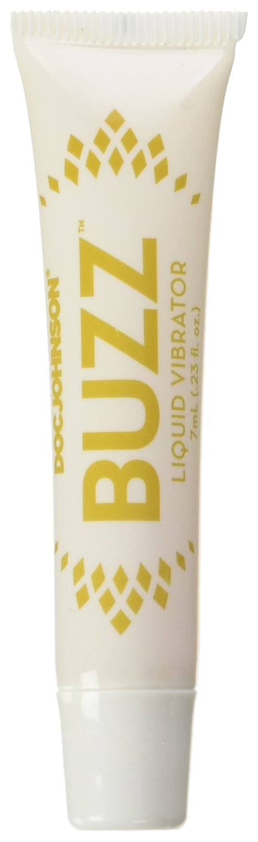 Doc Johnson Buzz Liquid Vibrator - Intimate Arousal Gel - Designed to Enhance a Woman's Sexual Sensations, Arousal, and Pleasusre - Gel Stays Where You Want It - 7 ml (0.23 fl. oz.)