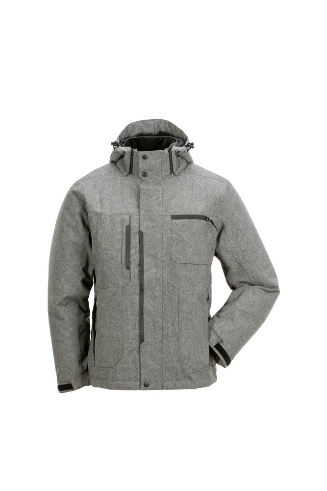 L Grey Planam 3692052 JacketOutdoor Zero Size In Gray