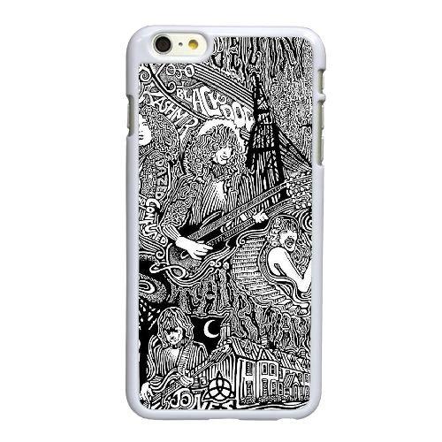 I9E31 Led Zeppelin T6S8SP coque iPhone 6 Plus de 5,5 pouces cas de couverture de téléphone portable coque blanche DM1XLK5EJ