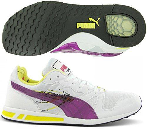 Puma - Zapatillas de running para mujer blanco blanco