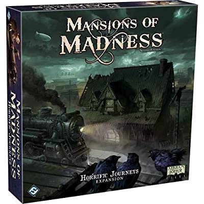 FFG MAD27 Mansions of Madness: Horrific Journeys Expansion, One Size: Toys & Games