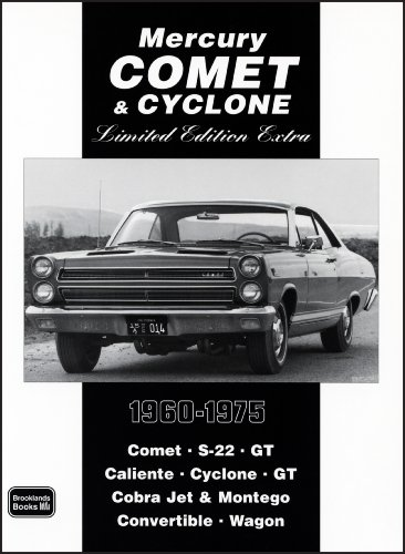 Mercury Comet & Cyclone Limited Edition Extra 1960-1975