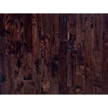 "SOLID HARDWOOD HAND SCRAPED ACACIA WALNUT LWSW1/434 3/4 WIDTH: 4 3/4"" BOX"