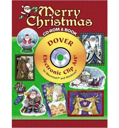 Merry Christmas CD-ROM and Book (Dover Electronic Clip Art) (Paperback) - Common