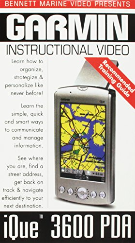 Garmin iQUE(tm) 3600 PDA GPS Instructional Training Video [VHS]