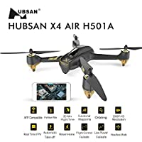 HUBSAN X4 AIR H501A Plus WIFI FPV Brushless With 1080P HD Camera GPS Waypoint RC Quadcopter RTF from HUBSAN