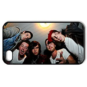 CTSLR Music & Band Series Protective Snap-on Hard Back Case Cover for iPhone 4 & 4S - 1 Pack - Sleeping with Sirens - 69