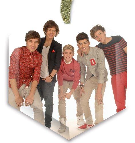One Direction v2 Crystal Christmas Ornament