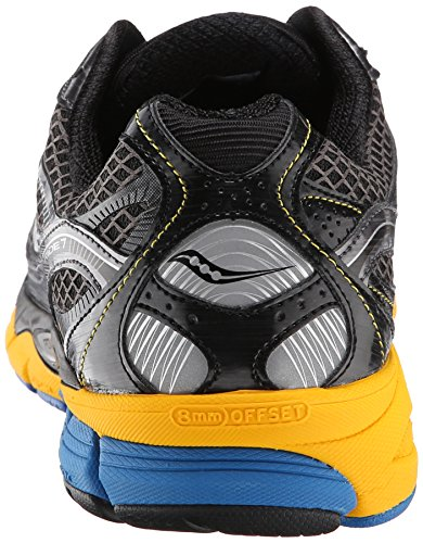 Saucony Ride 7, Men's Baby Shoes Grey / Yellow / Blue
