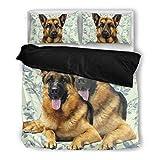 Wear My Pet Amazing German Shepherd Bedding Set