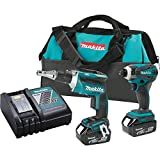 Makita XT256M 18-volt LXT Lithium Ion Cordless Combo Kit, 2-Piece (Discontinued by Manufacturer)