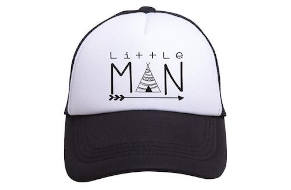 Amazon.com  Tiny Trucker Co. Baby Little Man Trucker Hat  Baby 7138ad08cebc