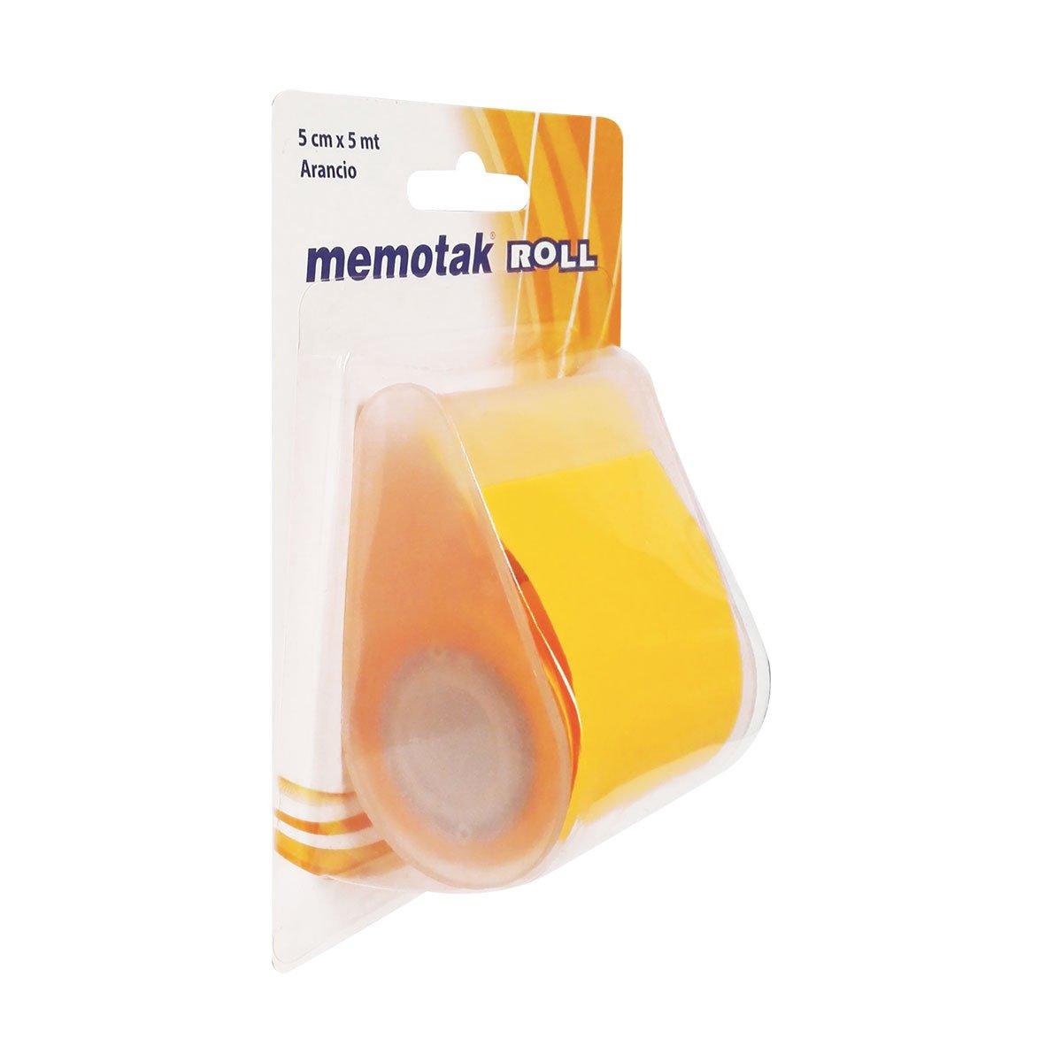 Blocchi Memotak Roll Giallo cm.5 x mt. 5 - confezione da 6 Roll