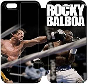 Flip Folio Leather Case for iPhone 6 4.7 inch Cell Phone Case Rocky Balboa HPM4610597