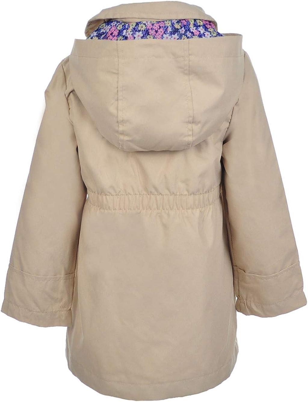 OshKosh BGosh Girls Hooded Trench Coat