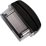48-Blade Stainless Steel Manual Meat Tenderizer Black - Otedes