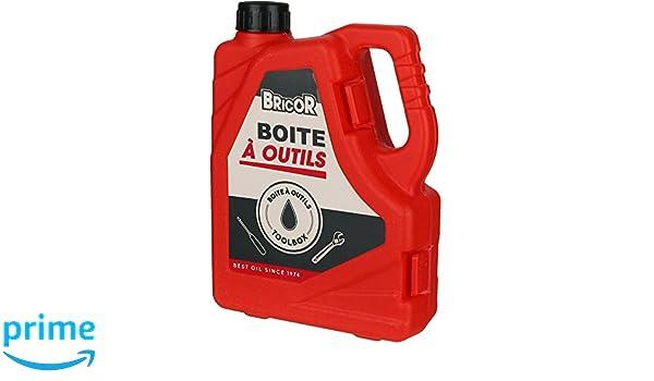 Caja de herramientas Jerrycan - Bidón bricor rojo Set de 14 herramientas la chaise longue 38 - 1q-016: Amazon.es: Hogar