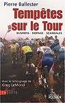 Tempêtes sur le Tour : Business-dopage-scandales par Ballester